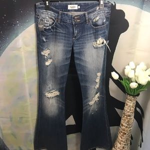 Abercrombie & Fitch women's destroyed jean size 4
